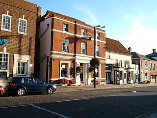 Witham Human settlement in England