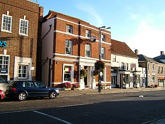 Witham - Image: Town Hall, Witham, Essex geograph.org.uk 65400