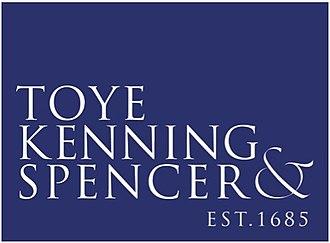 Toye, Kenning & Spencer - Image: Toye Kenning and Spencer Logo