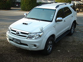 manufacturer toyota motor thailand also called toyota hilux sw4 toyota ...