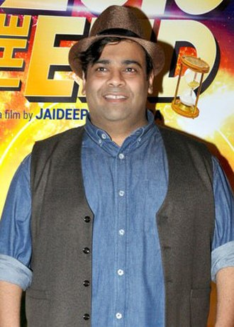 Kiku Sharda - Sharda at trailer launch of 2016 The End