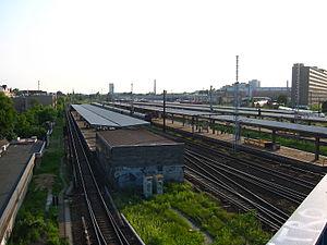 Berlin-Lichtenberg station - Image: Train station Berlin Lichtenberg 2
