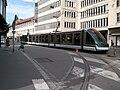 TramStrasbourg lineA HommeFerProv versHautepierre2.JPG