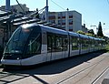 TramStrasbourg lineD Rotonde versBriand.JPG