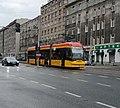 Tram in Warsaw, Pesa Jazz 134N n°3814.jpg