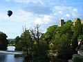 Tranquil scene at Ludlow castle.jpg
