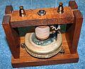 Transmetteur expérimental de Graham Bell (1875).jpg
