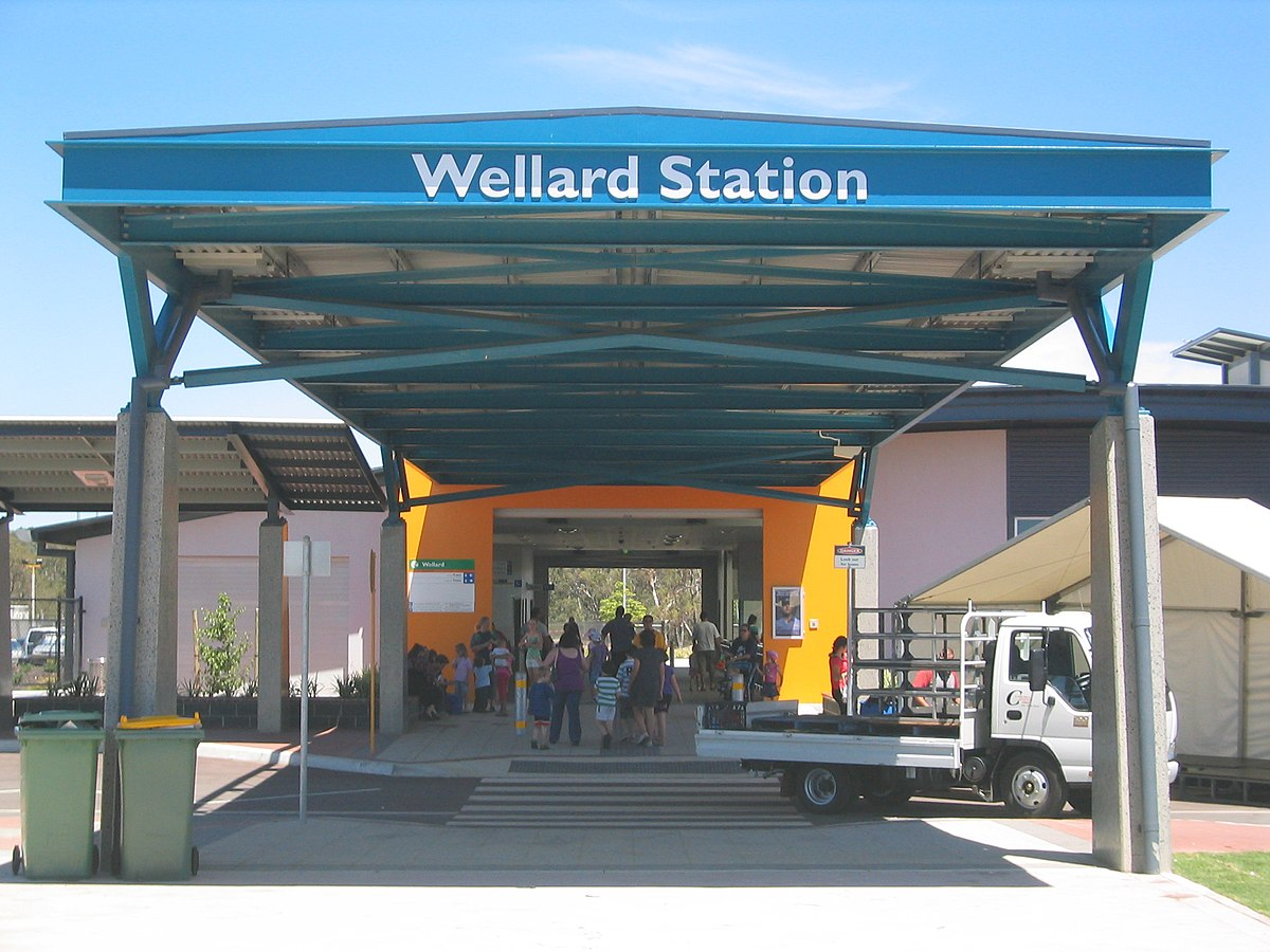Wellard Train Station