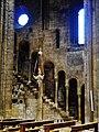 Trento Cattedrale San Vigilio Vescovo Innen Langhaus Lampe 2.jpg