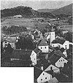 Trg Planina pri Sevnici z grajskih razvalin 1937.jpg