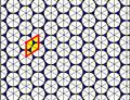 Triangular tiling circle packing.png