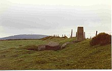Trig point at summit of Cupidstown Hill - geograph.org.uk - 223982.jpg
