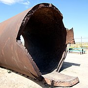 Trinity Site - Remnants of Jumbo - 2010.jpg
