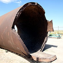 Trinity Site - Remnants of Jumbo - 2010