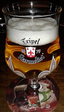 Description de l'image Tripel Karmeliet (glass).jpg.