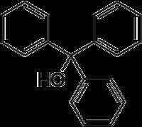 CAS # 76-84-6, Triphenylmethanol, Triphenylcarbinol, Trityl_