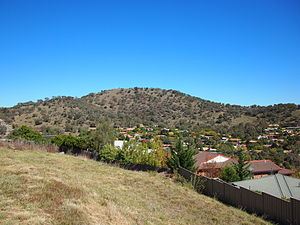 Tuggeranong Hill - Tuggeranong Hill viewed from Chisholm