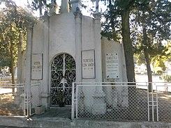 Pante n jard n wikipedia la enciclopedia libre for Cementerio jardin del oeste