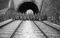 Tunnel und Brücke von Châtelard mit Wachtmannschaft - CH-BAR - 3237246.tiff