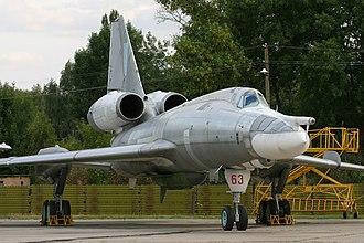 Tupolev Tu-22 - Tu-22KD with Kh-22 missile