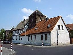 Badeteichstraße in Magdeburg