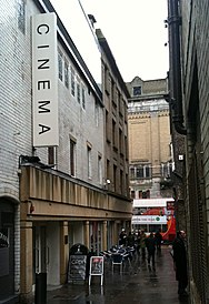 Tyneside Cinema, designed and built by Dixon Scott, great uncle of Ridley and Tony Scott Tyneside Cinema, Feb 2010.jpg