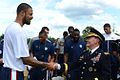Tyson Chandler Martin E. Dempsey at Arlington National Cemetery.jpg