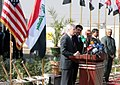 U.S. Ambassador, Baghdad mayor open water treatment facility DVIDS146153.jpg
