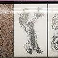 U2 Museumsquartier Kunst Bahnsteig 2 Zeichnung 07 Der Hirte.jpg