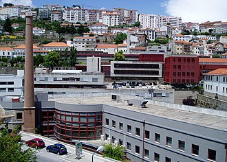Covilhã - A view of the University of Beira Interior