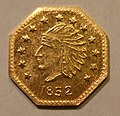 USA, CALIFORNIA GOLD RUSH, GOLD 1852 -HALF DOLLAR b - Flickr - woody1778a.jpg