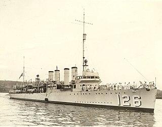 USS <i>Badger</i> (DD-126)