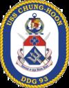 USS Chung Hoon DDG-93 Crest.png