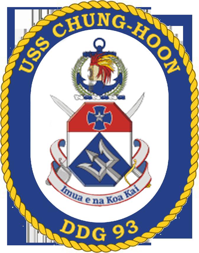 USS Chung Hoon DDG-93 Crest