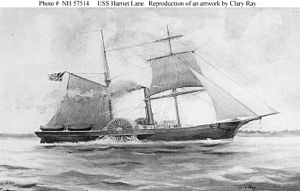 Battle of Galveston Harbor (1862) - Image: USS Harriet Lane