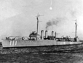 英格拉罕号驱逐舰 (DD-111)