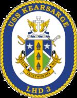 USS Kearsarge LHD-3 Crest.png
