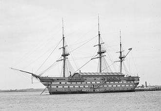 USS New Hampshire (1864) - USS New Hampshire between 1890 and 1901
