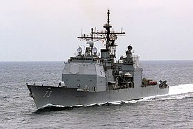 USS Port Royal (CG73) i den Persiske Golf