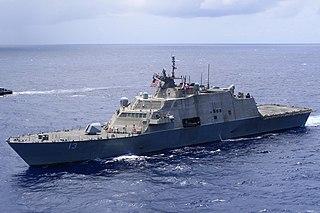 USS <i>Wichita</i> (LCS-13) Littoral combat ship of the United States Navy
