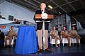 US Navy 020315-N-9312L-290 Vice President Cheney addresses crew.jpg