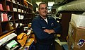 US Navy 030915-N-5471P-001 very busy Postal Clerk 2nd Class Joseph Crozier from handling the ship's mail.jpg