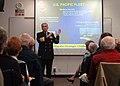 US Navy 050203-N-3289C-001 Commander, U.S. Pacific Fleet, Adm. Walter F. Doran, speaks to members of the Institute for Continued Learning at the University of California in San Diego, Calif.jpg