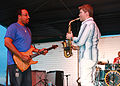 US Navy 070902-N-9643W-028 Jazz musician Michael Lington demonstrates his saxophone skills during the 2007 Guantanamo Bay JazzFest.jpg