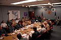 US Navy 100825-N-5469W-286 Senior leadership attends a PANAMAX briefing.jpg