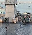 US Navy 110312-N-0864H-285 Sailors aboard the U.S. 7th Fleet command ship USS Blue Ridge (LCC 19) prepare humanitarian assistance supplies as the s.jpg