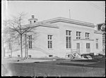 US Post Office just finished in Kinston, NC. Date of this photo is 3 January 1916. From Coble's Art Studio Photograph Collection, PhC.190, State Archives of North Carolina. (9617351468).jpg