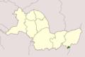 Udayapur District, Nepal blank map.png