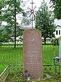 Uliūnai, Jono Balvočiaus kapas.JPG
