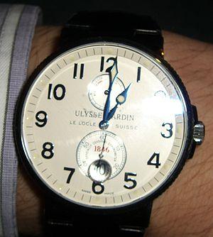 Ulysse Nardin Maxi Marine Chronometer 1846.